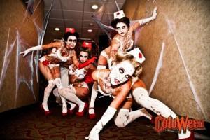 Haunted Nurses at Coloween