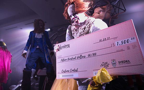 Cash Costume Contest