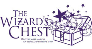 Find Halloween Costumes Denver at The Wizard's Chest (Logo image)